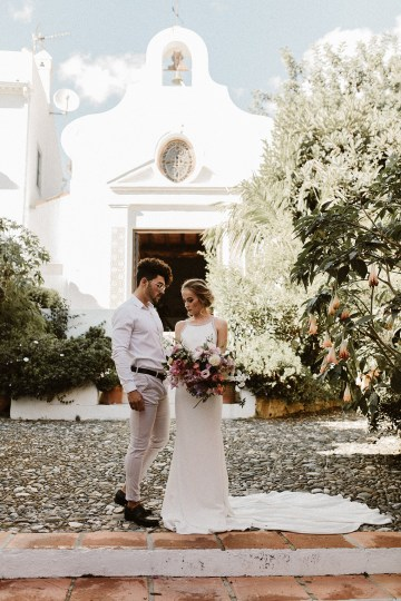 Bougainvillea Wedding Inspiration With Modern Silk Gowns   IDO Events   Kevin Klein 2