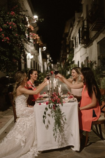 Bougainvillea Wedding Inspiration With Modern Silk Gowns   IDO Events   Kevin Klein 34