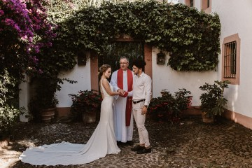 Bougainvillea Wedding Inspiration With Modern Silk Gowns   IDO Events   Kevin Klein 38