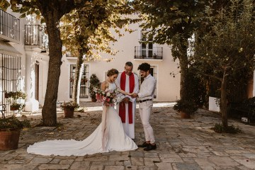Bougainvillea Wedding Inspiration With Modern Silk Gowns   IDO Events   Kevin Klein 39