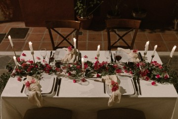 Bougainvillea Wedding Inspiration With Modern Silk Gowns   IDO Events   Kevin Klein 46