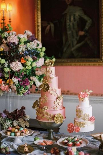 Citrus & Peach Chateau Wedding Inspiration | Lucy Davenport 7