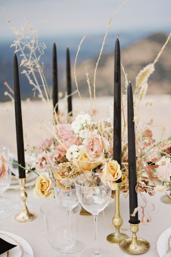 Fashion-forward Black & White Wedding Ideas From Malibu | Babsy Ly 10