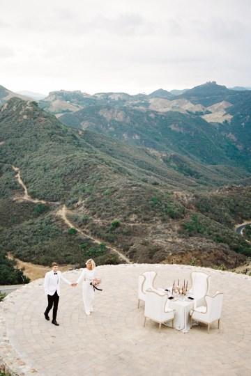 Fashion-forward Black & White Wedding Ideas From Malibu | Babsy Ly 13