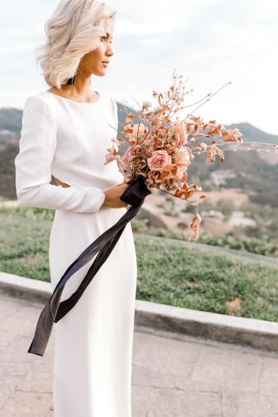 Fashion-forward Black & White Wedding Ideas From Malibu   Babsy Ly 18
