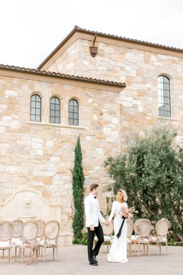 Fashion-forward Black & White Wedding Ideas From Malibu | Babsy Ly 22