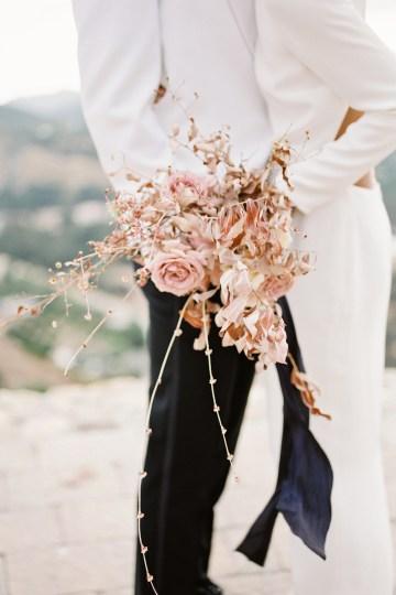 Fashion-forward Black & White Wedding Ideas From Malibu | Babsy Ly 27