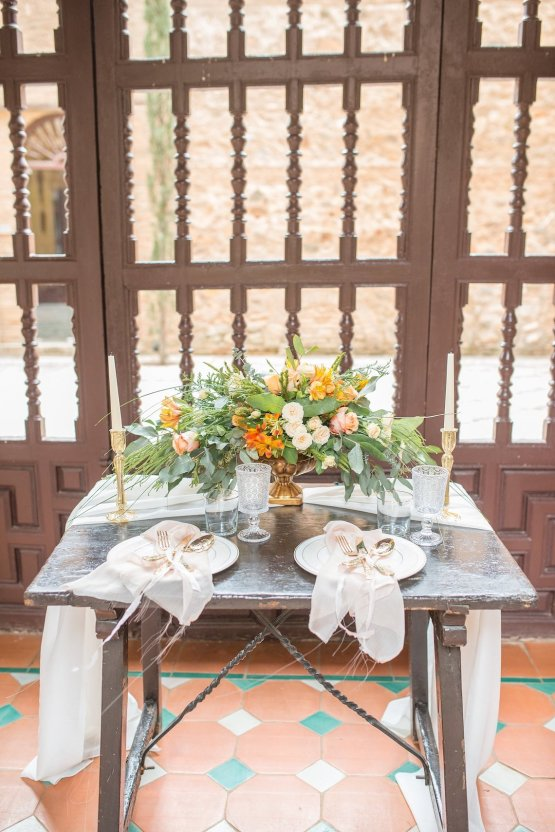 Gilded Arabic & Spanish Wedding Inspiration | Anna + Mateo 29