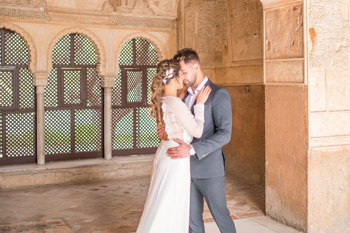 Gilded Arabic & Spanish Wedding Inspiration | Anna + Mateo 45