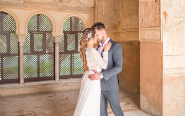 Gilded Arabic & Spanish Wedding Inspiration