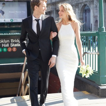 How To Style Your Intimate Wedding – The Elopement Fashion Guide | David's Bridal Little White Dresses 22