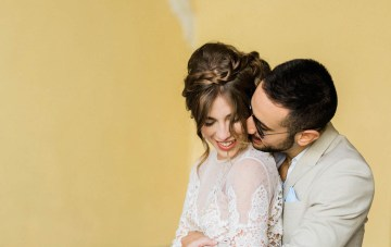 Casual Boho Elopement Inspiration From A Romantic Italian Village