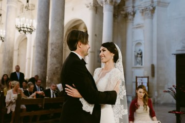 Luxurious Italian Cathedral Wedding On The Seaside | Serena Cevenini 6