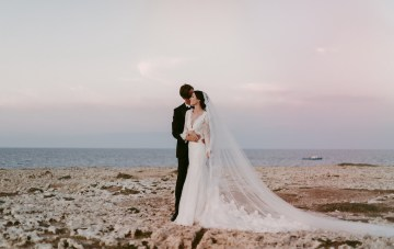Luxurious Italian Cathedral Wedding By The Sea