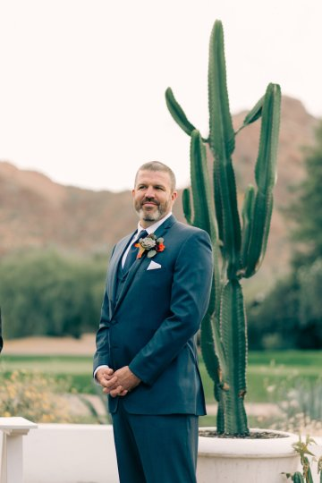Midcentury Modern Desert Wedding Made Of Boho Dreams | Vienna Glenn 12