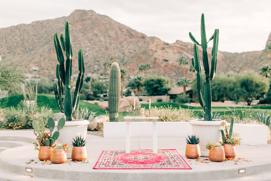 Midcentury Modern Desert Wedding Made Of Boho Dreams | Vienna Glenn 49