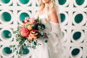 Midcentury Modern Desert Wedding Made Of Boho Dreams | Vienna Glenn 53