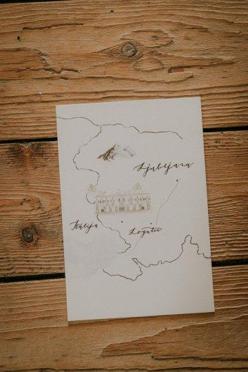 Monstera Leaves & Artichokes; A Hip Slovenian Wedding   Karen Willis Holmes Bridal   Aljosa Videtic 16