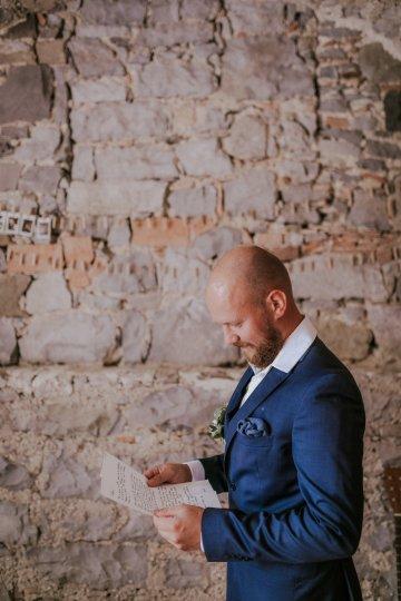 Monstera Leaves & Artichokes; A Hip Slovenian Wedding   Karen Willis Holmes Bridal   Aljosa Videtic 18