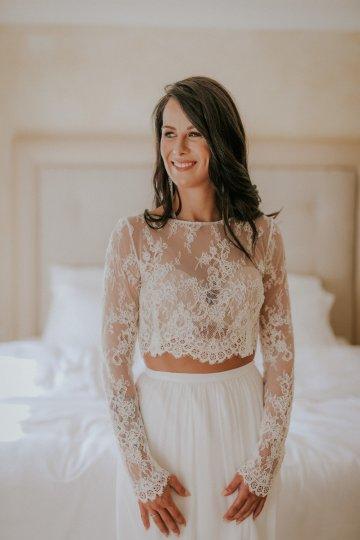 Monstera Leaves & Artichokes; A Hip Slovenian Wedding   Karen Willis Holmes Bridal   Aljosa Videtic 20