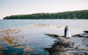 Nautical New England Foodie Wedding (With Lobster Rolls!)