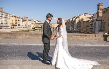 Practically Royal Tuscan Wedding