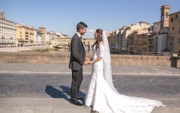 Practically Royal Tuscan Wedding