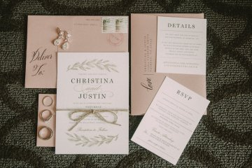 Pretty Pink Countryside Wedding (With Cute Aisle Signage) | Barkerture Photo 1