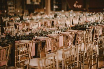 Pretty Pink Countryside Wedding (With Cute Aisle Signage) | Barkerture Photo 13