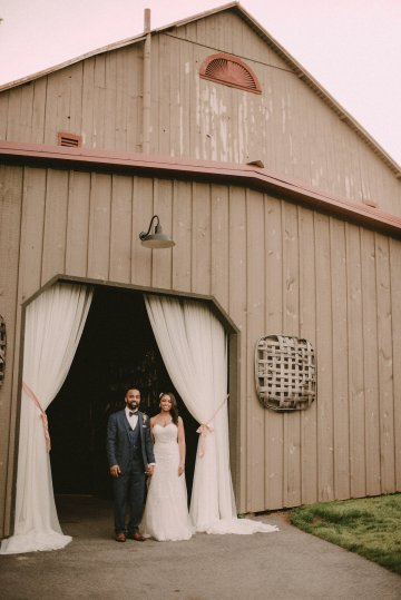 Pretty Pink Countryside Wedding (With Cute Aisle Signage) | Barkerture Photo 45