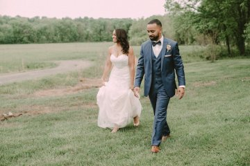 Pretty Pink Countryside Wedding (With Cute Aisle Signage) | Barkerture Photo 5