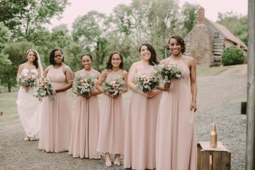 Pretty Pink Countryside Wedding (With Cute Aisle Signage) | Barkerture Photo 6