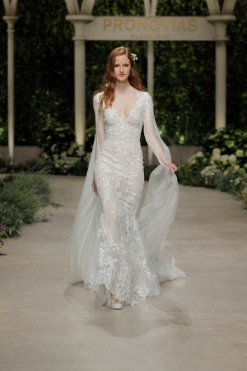 Pronovias 2019 In Bloom Wedding Dress Collection | Calas