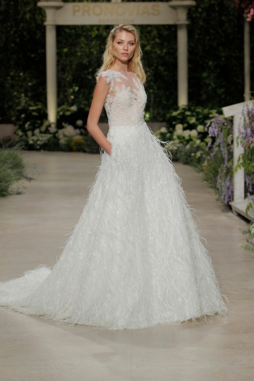 Pronovias 2019 In Bloom Wedding Dress Collection | Carey