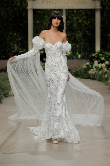 Pronovias 2019 In Bloom Wedding Dress Collection | Carina