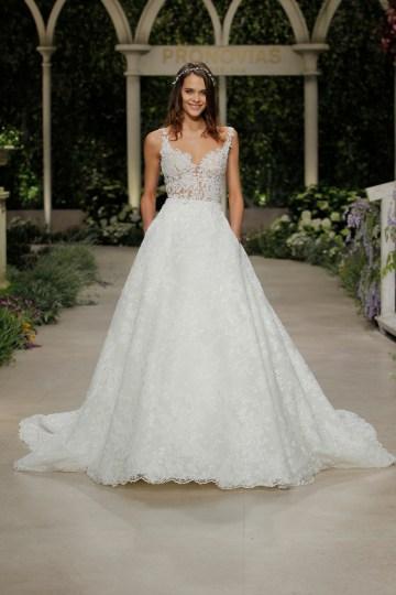 Pronovias 2019 In Bloom Wedding Dress Collection | Cecilia