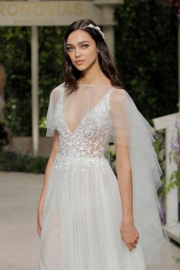 Pronovias 2019 In Bloom Wedding Dress Collection | Celia 2