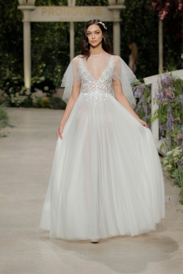 Pronovias 2019 In Bloom Wedding Dress Collection | Celia