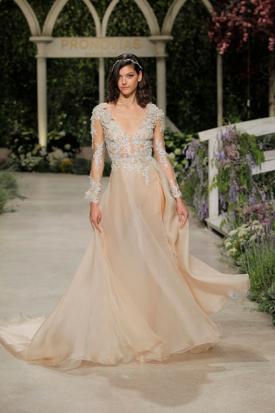 Pronovias 2019 In Bloom Wedding Dress Collection | Cindy