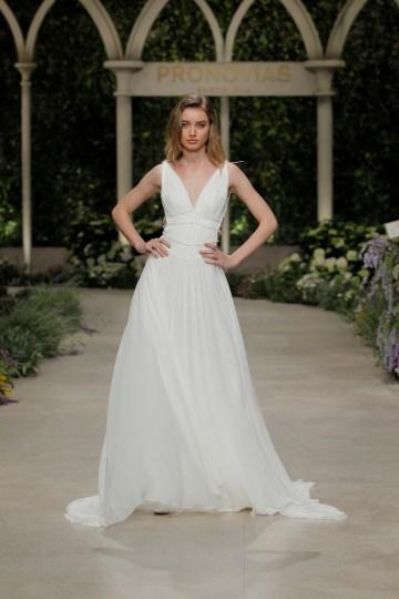 Pronovias 2019 In Bloom Wedding Dress Collection | Cobre