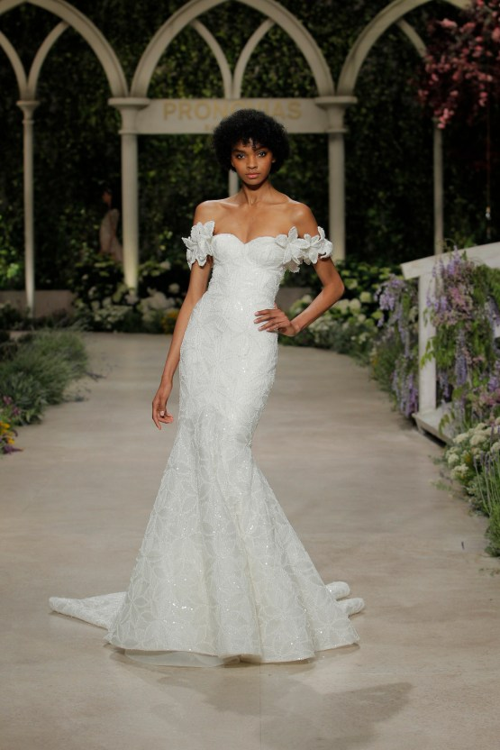 Pronovias 2019 In Bloom Wedding Dress Collection | Hechizo