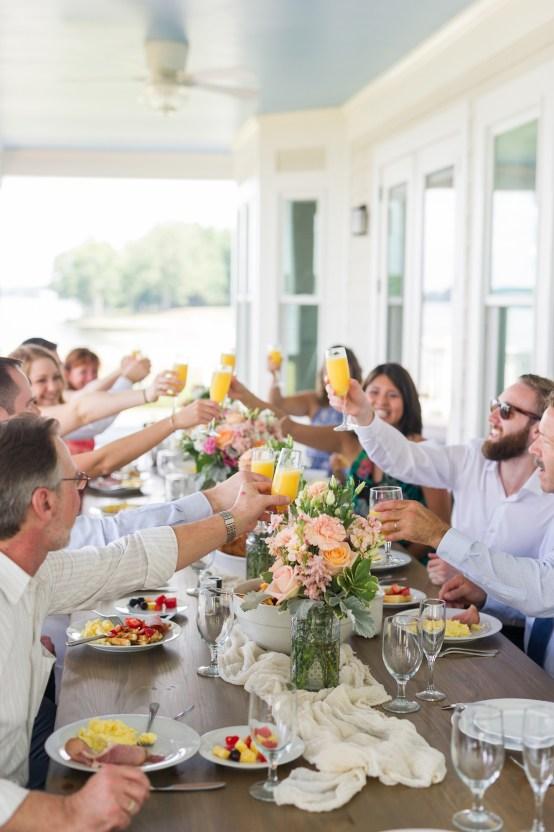 Sweet & Intimate Southern Brunch Wedding | Laura Barnes Wedding 25