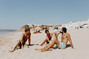 9 Guests 2 Dogs on a Beach in Portugal – A Wedding Film | Vanessa & Ivo 1
