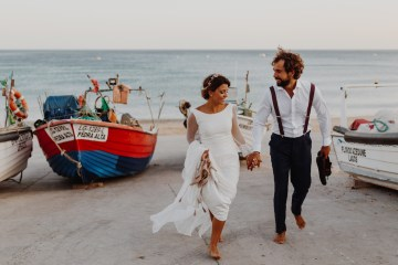 9 Guests 2 Dogs on a Beach in Portugal – A Wedding Film | Vanessa & Ivo 35