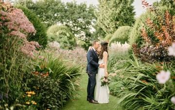 Floral Fantasy At An English Garden Wedding