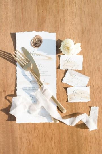 Earthy Organic Seaside Wedding Inspiration (& A Nude Wedding Dress) | George Liopetas 3