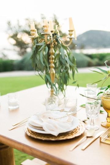 Earthy Organic Seaside Wedding Inspiration (& A Nude Wedding Dress) | George Liopetas 30