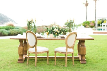 Earthy Organic Seaside Wedding Inspiration (& A Nude Wedding Dress) | George Liopetas 46
