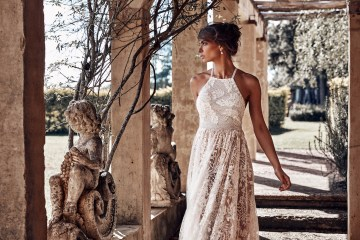 Free-Spirited Bohemian Icon Wedding Dress Collection by Graces Loves Lace | Harri 5
