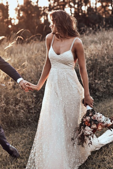 Free-Spirited Bohemian Icon Wedding Dress Collection by Graces Loves Lace | Menha 4
